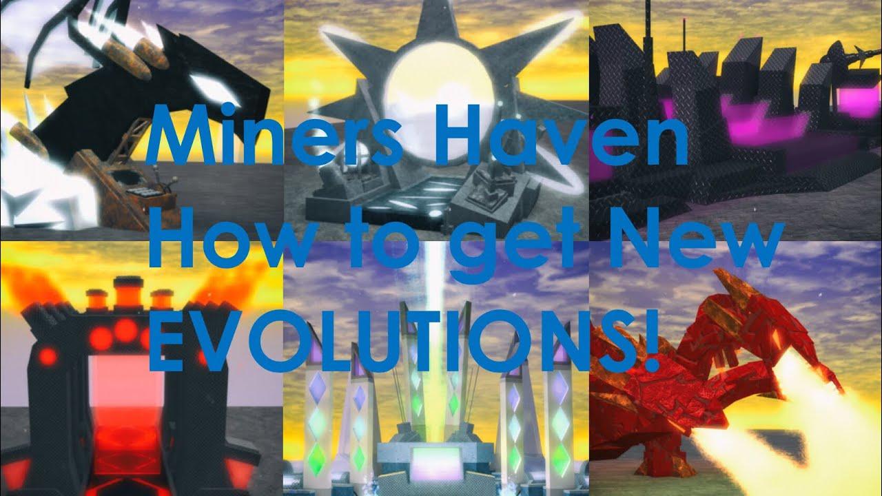 Miners Haven - How to get new EVOLUTIONS!   Doovi