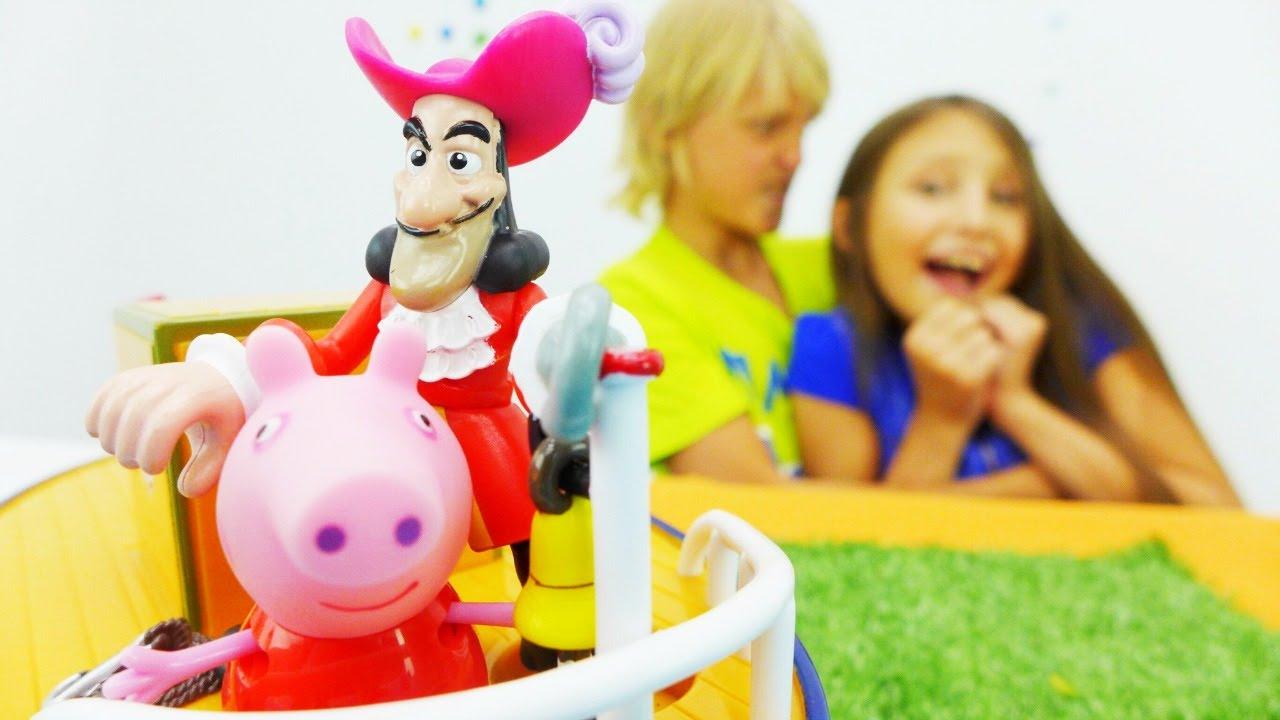 Рассказы и сказки для детей - Видео с игрушками Свинка ...