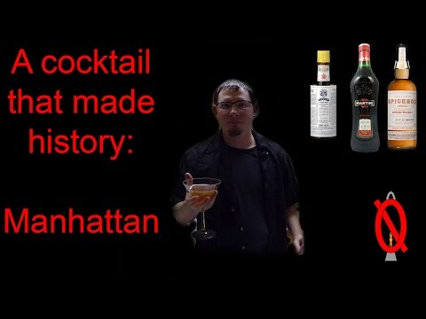 The Manhattan | A cocktail that made history