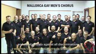 Mallorca Gay Men's Chorus - One kiss, one fight