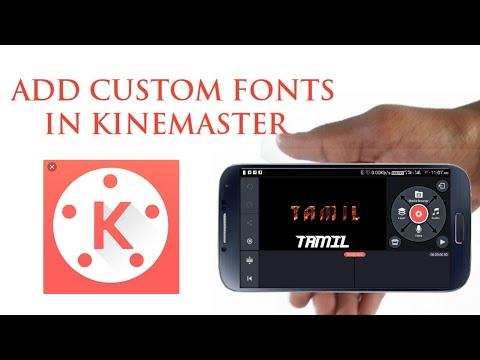 எப்படி Kinemaster-இல் Font-ஐ Add பண்ணுவது