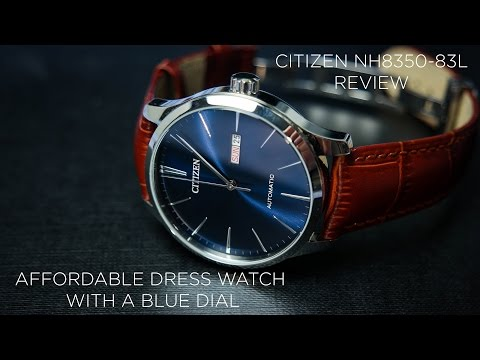 Citizen NH8350-83L Review | Best Dress Watch With A Blue Dial Under $200!