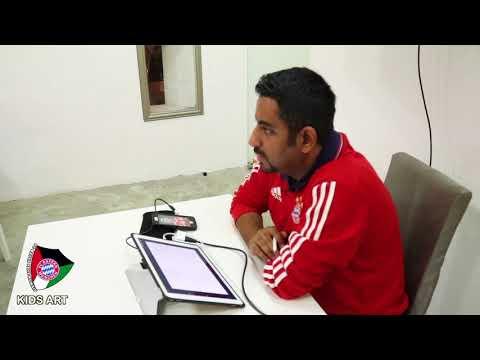 report fc Bayern fans kuwait - KIDS ART