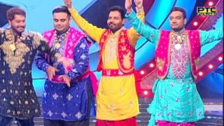 JUDGES Playing Dancing Statue | Funny Moments | Voice Of Punjab Season 7 | PTC Punjabi