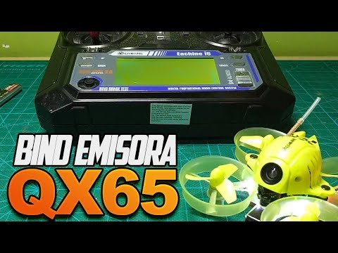 Eachine QX65 - Bind con emisora