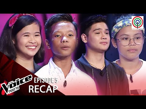 The Voice Teens Philippines 2020 RECAP | Episode 5