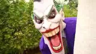 24 KILLER CLOWN Attacks Spiderman! Tractor Cars For Kids Toys w Bad Baby, Hulk, Joker in Real Life