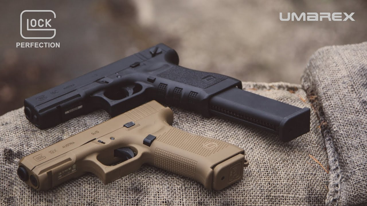 New UMAREX G19x, G18C Gen3 and G19 Gen4 Airsoft Glocks -The Firearm Blog