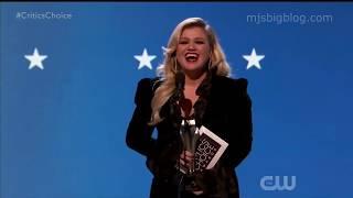Kelly Clarkson Critics Choice Awards 2020