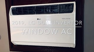 2019-Hindi-LG DUAL Inverter Window Air Conditioner 1.5T with Wi-Fi |model no JW-Q18WUZA|review