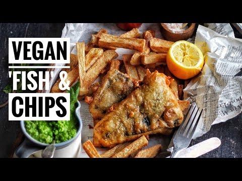 'FISH' & CHIPS | @avantgardevegan By Gaz Oakley
