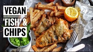 One of avantgardevegan's most viewed videos: 'FISH' & CHIPS | @avantgardevegan by Gaz Oakley