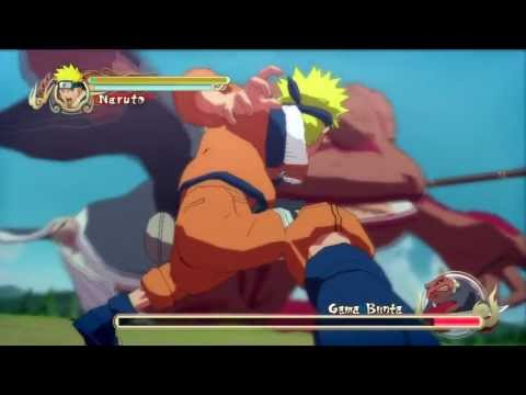 Naruto Vs Gama-Bunta Naruto Storm PS3 HD