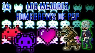Los mejores homebrews de PSP | Parte 14 | HD | luigi2498