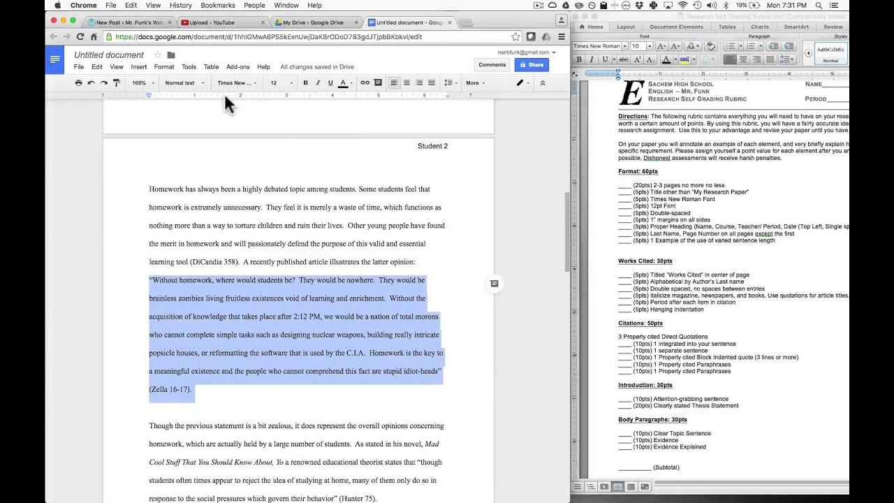 gooble de gook research papers