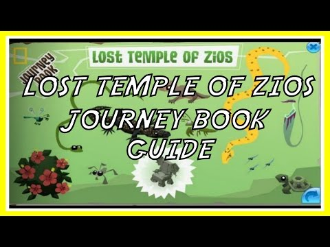Animal Jam: Lost Temple Of Zios Journey Book Guide