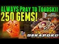 250 Gem Katakuri Sugofest | ALWAYS Pray to Toadskii | One Piece Treasure Cruise