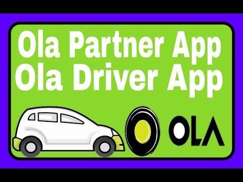 Ola Partner App, Ola Driver App