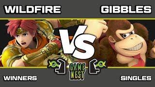 Game Nest Smash It Up: Wildfire (Roy) vs Gibbles (Donkey Kong) - Winners Round 3