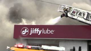 Salisbury 4th Alarm Commercial Structure Fire - 1.6.14