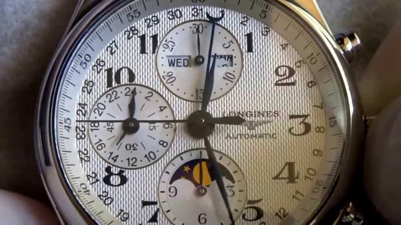 Image result for longines master moonphase