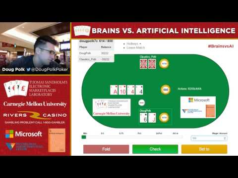 Brains vs. Artificial Intelligence - 80,000 Hands No-Limit Hold'Em - 7 / 7