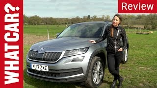 Skoda Kodiaq SUV 2017 review – Is Skoda's first 7-seater a winner? | What Car?