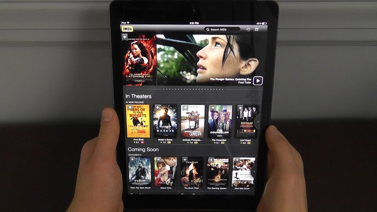 watching movies for free on ipad