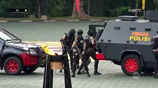 Aksi Para Polisi yang Menegangkan dan Menghibur Para Penonton di Porsimaptar 2018