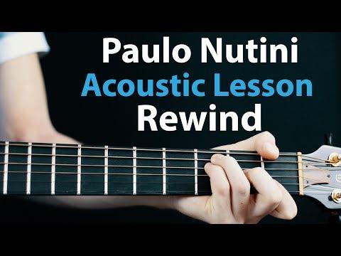 Paulo Nutini - Rewind: Acoustic Guitar Lesson