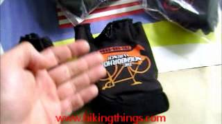 custom neighborhoodwrench bike gloves, custom cycling gloves mechanics.wmv