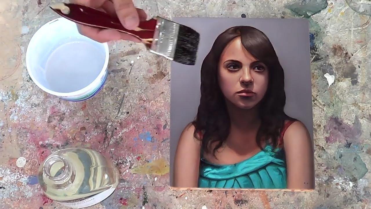 Cómo barnizar una pintura - óleo y acrílico