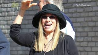 Barbra Streisand Blames President Trump for Weight Gain