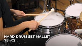 MEINL Stick & Brush Hard Drum Set Mallet SB402