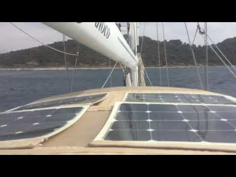 Bimini solar panel wind issue