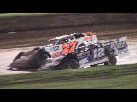 RUSH Crate Late Model Heat Three   Eriez Speedway   9-22-18