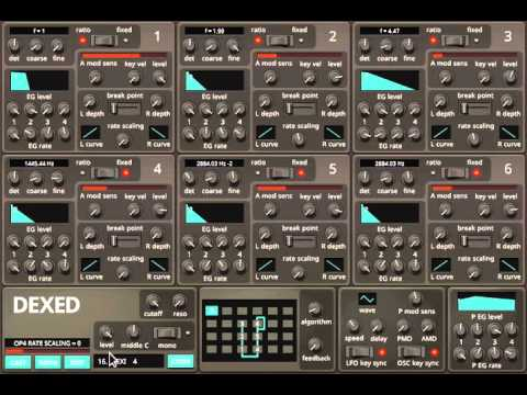 DEXED ALL PRESETS | VIRTUAL INSTRUMENT DEMO