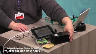 #heiseshowXXL: Projekte für den Raspberry Pi