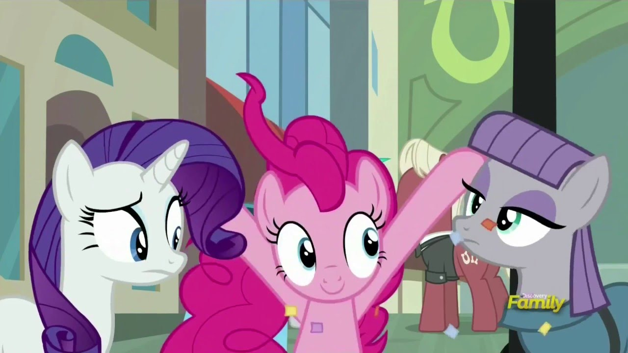 Pinkie and Rarity meet up with Maud - The Gift of Maud Pie - YouTube