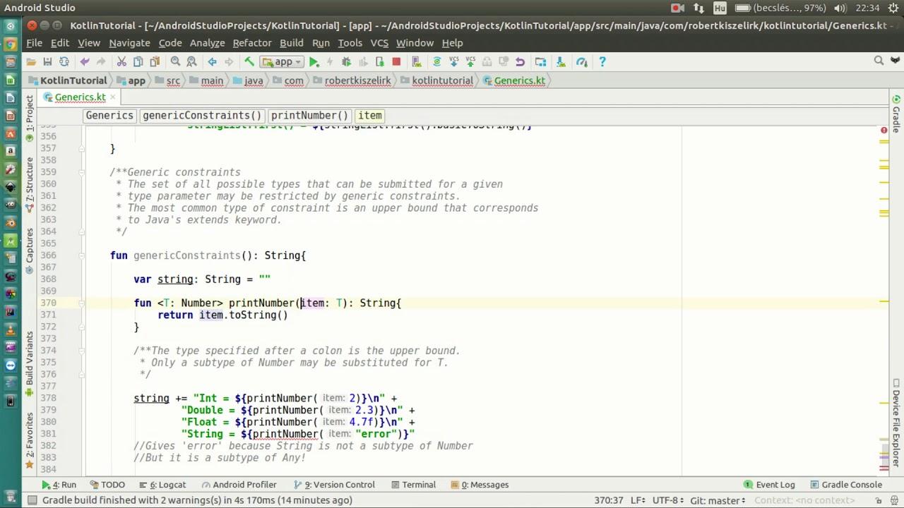 Generics tutorial in java part 2 (generic methods) youtube.