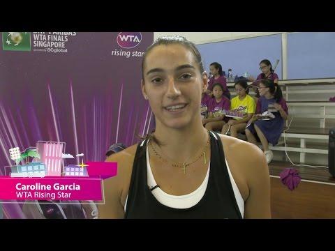 WTA Rising Stars | WTA Live Fan Access presented by Xerox | 2015 WTA Finals