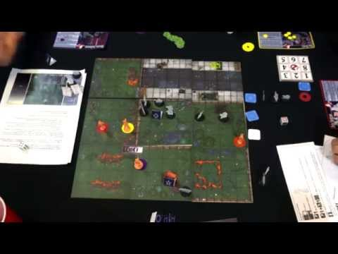 Ghostbusters The Board Game - Play test of [Ghostbusters The Board Game ] Part 2