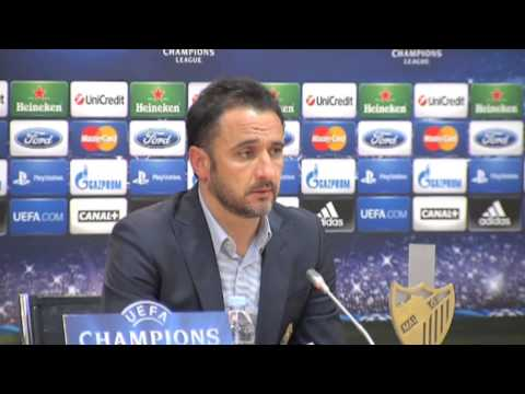 Malaga vs Porto - Pereira post-match press conference