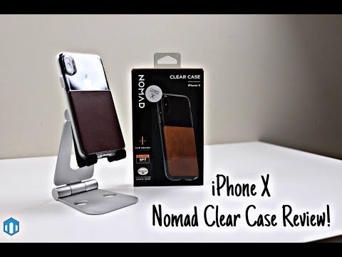 new product 3fc99 c8c2c iPhone X Nomad Clear Case Review!