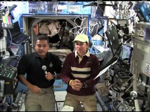 NASA STS 128 Entrevistas en vivo Telemundo WTSP TV ...