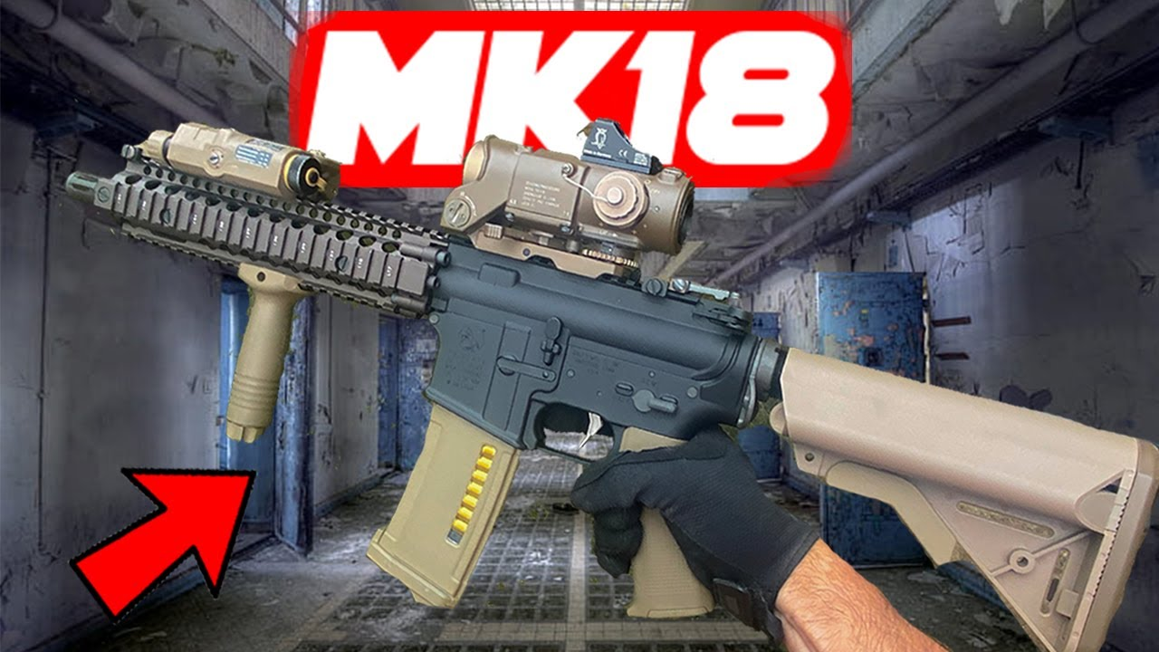Abandoned Factory Airsoft MK18 AEG + Tokyo Marui MK46 Gameplay!