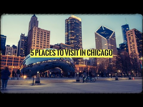 TRIP TO CHICAGO - TOP 5 PLACES TO VISIT