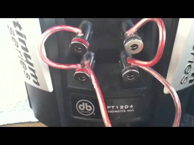 Db drive platinum series 12 subwoofers