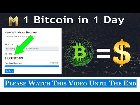 Make Money $8000 Per Day With Bitcoin || Without Investment  || Earn 1 BTC In 1 Day