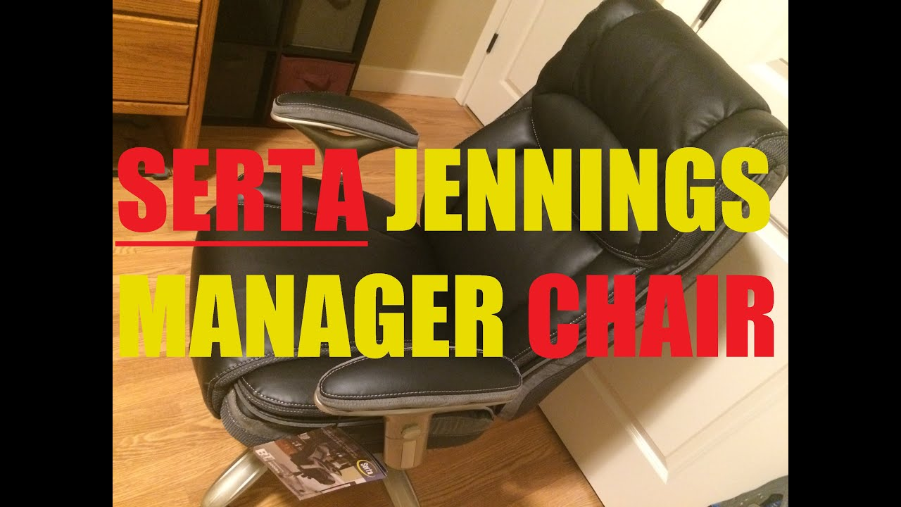 Serta Jennings Chair Warranty Design Documentary Manager Unboxing Assembly Use And